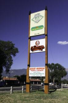 Omelette Parlor Sign