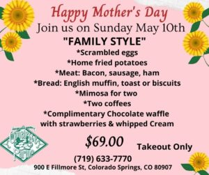 Omelette Parlor Mother's Day